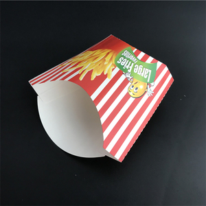 custom printed french fries fried chicken potato chips packaging box