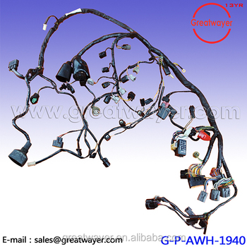 09-12 Kawasaki Ninja / Engine Wiring Harness / Zx6r 636 Oem Main Motor on suspension harness, dodge sprinter engine harness, engine harmonic balancer, oem engine wire harness, engine control module, hoist harness, bmw 2 8 engine wire harness,