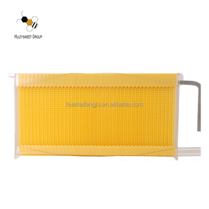 New design beekeeping tools plastic honey flow bee hive frame