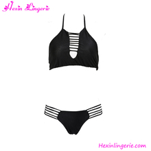 Top Selling Black Hot Sling Bikini Women xxxl Hot Sex Swimwear