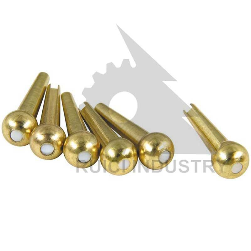 brass material machine spare parts