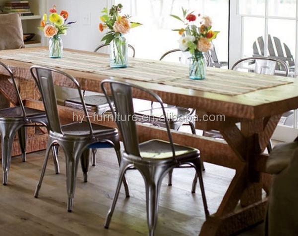 Beautiful Tolix Metal Cafe Chairs ZPDDJ