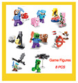 Hot Game Anime Action Figure Plastic Model Kits Building Blocks Compatible With Lego Educatinal DIY Toys