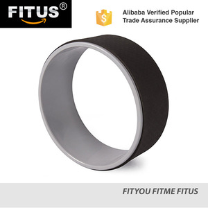 FITUS China Factory OEM Accept Private Label Design Fitness Yoga Wheel