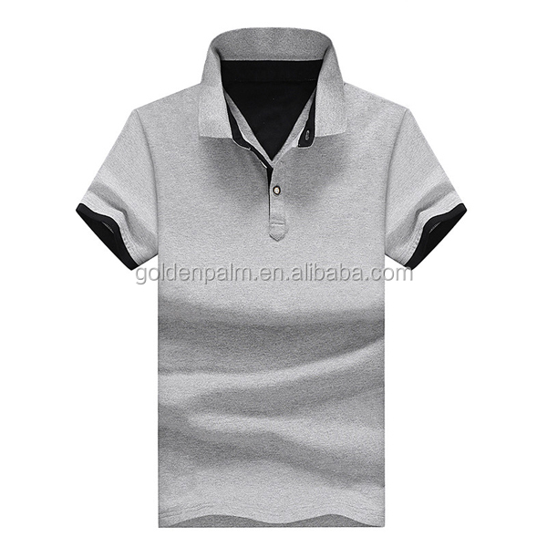 2017 neue Design Stickerei Plain/Leere Polyester Polo-Shirt Hersteller
