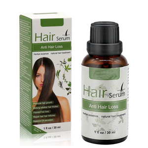 Best Hair growth serum, Natural Treatment for Hair Thickening Herbal Anti Hair Loss ,stop hair loss for men and women OEM