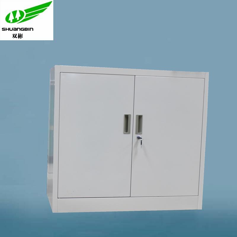 Half Height Steel Outdoor Shoe Cabinet Black White Low