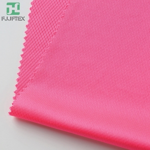 Knitted 100% Polyester Fabric Bird Eye Mesh Fabric Sportswear Team Clothes Polyester Fabric