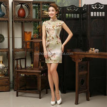 Z55092B Formelle Robes sexy femme chinois qipao cheongsam