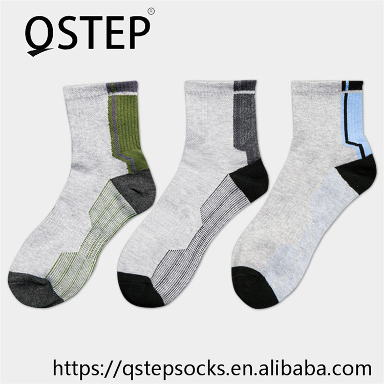 China own factory custom bulk crew wholesale business men cotton socks