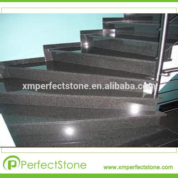 Baldosas de granito gris oscuro precio barato escaleras de for Marmol gris oscuro
