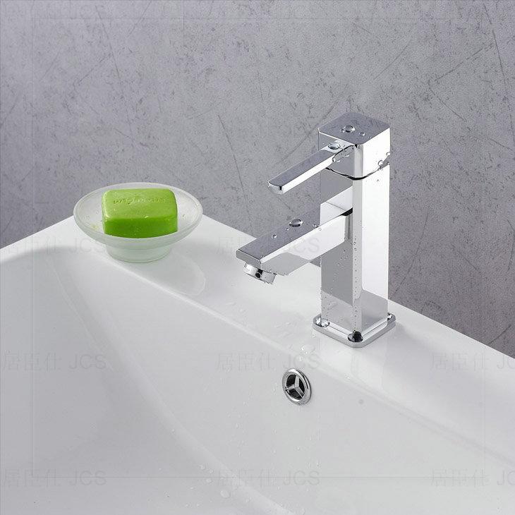bamboo bathroom bathroom sink basin mixer tap chromed polished brass 8 corner faucet bf063. Black Bedroom Furniture Sets. Home Design Ideas