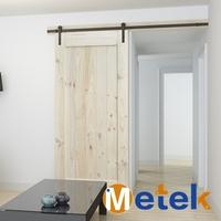 New production unique design residential sliding barn door