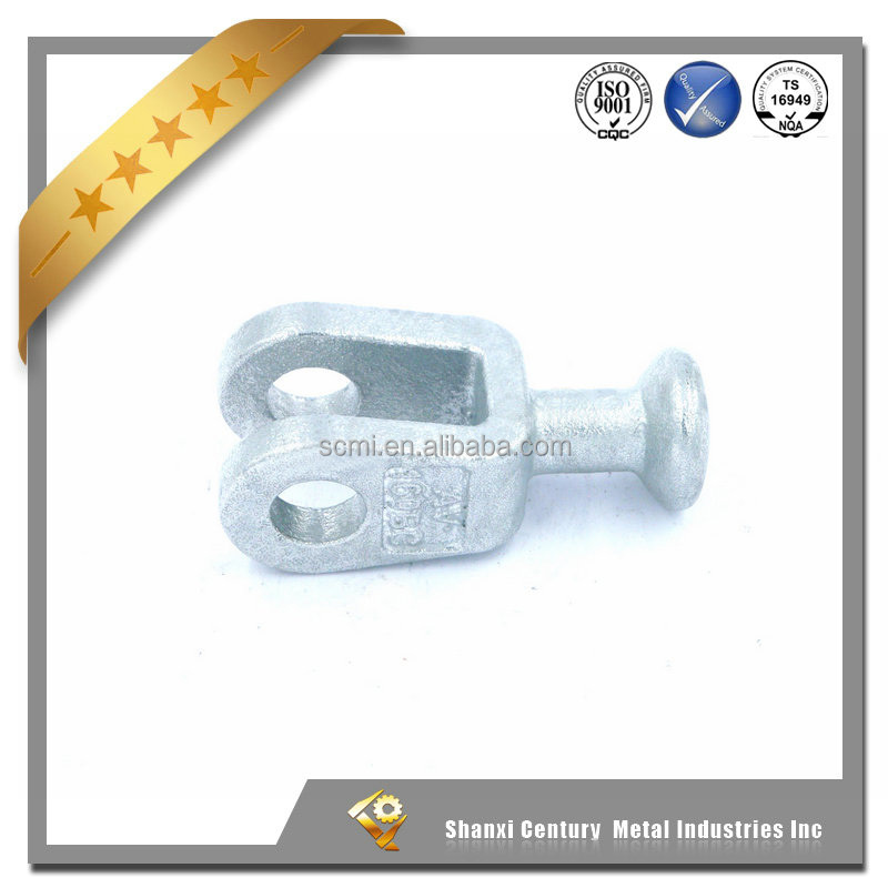 70KN Ball clevis overhead line fitting for transmission and distribution power line