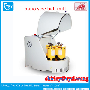 Nano Size Powder Grinding Small Lab Planetary Ball Mill Machine 1L Capacity 220V Mini Desktop Type Grinder Manufacturer
