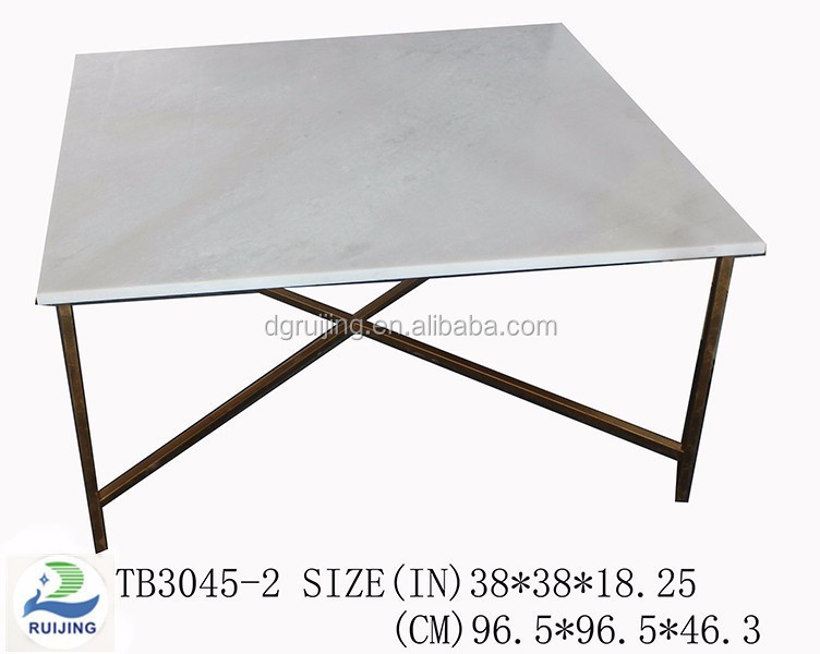 Modern marble furniture centre end table