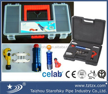 Stainless steel corrugated flexible pipe tool kit