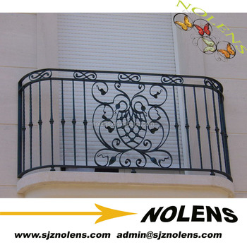 Wrought Iron Window Balcony Grill Design Custom Fence Cover Designs