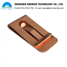 High quality stainless steel customized sheet metal spring belt clips