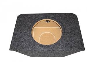 """Zenclosures 2000-2009 Honda S2000 1-12"""" Subwoofer Box with RECESSED MOUNTING HOLE (TYPE 2)"""
