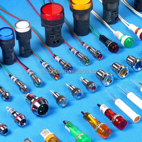 Daier Xd8-1w 110 Volt Led Indicator Lights