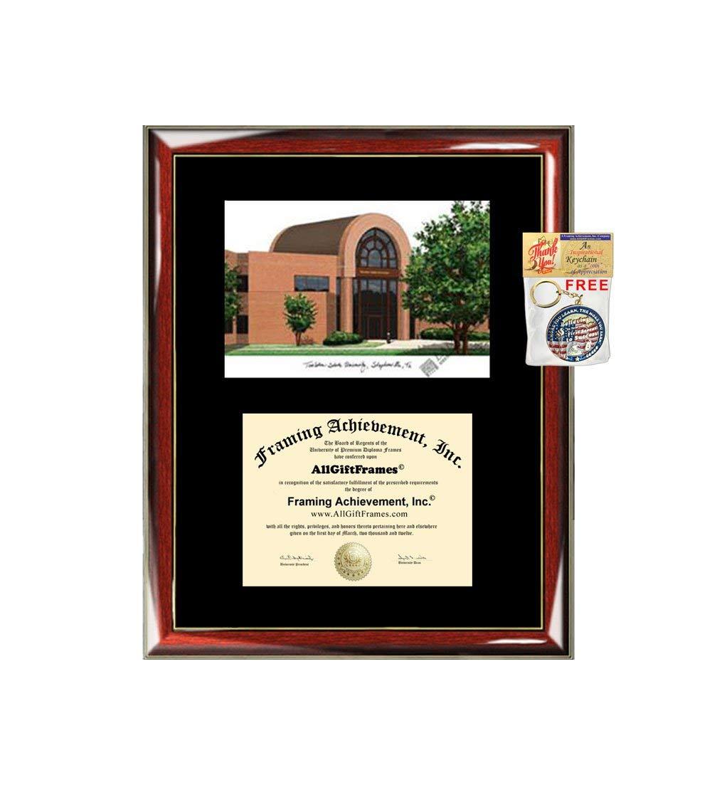 ASU diploma frame Arizona State University degree frames school Personalized Bachelor Master Doctorate phd mba Engrave Holder Case