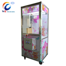 Wangdong Arcade Toy Gift Machine Candy/ Claw Crane Prize Vending Game Machine Top Sale