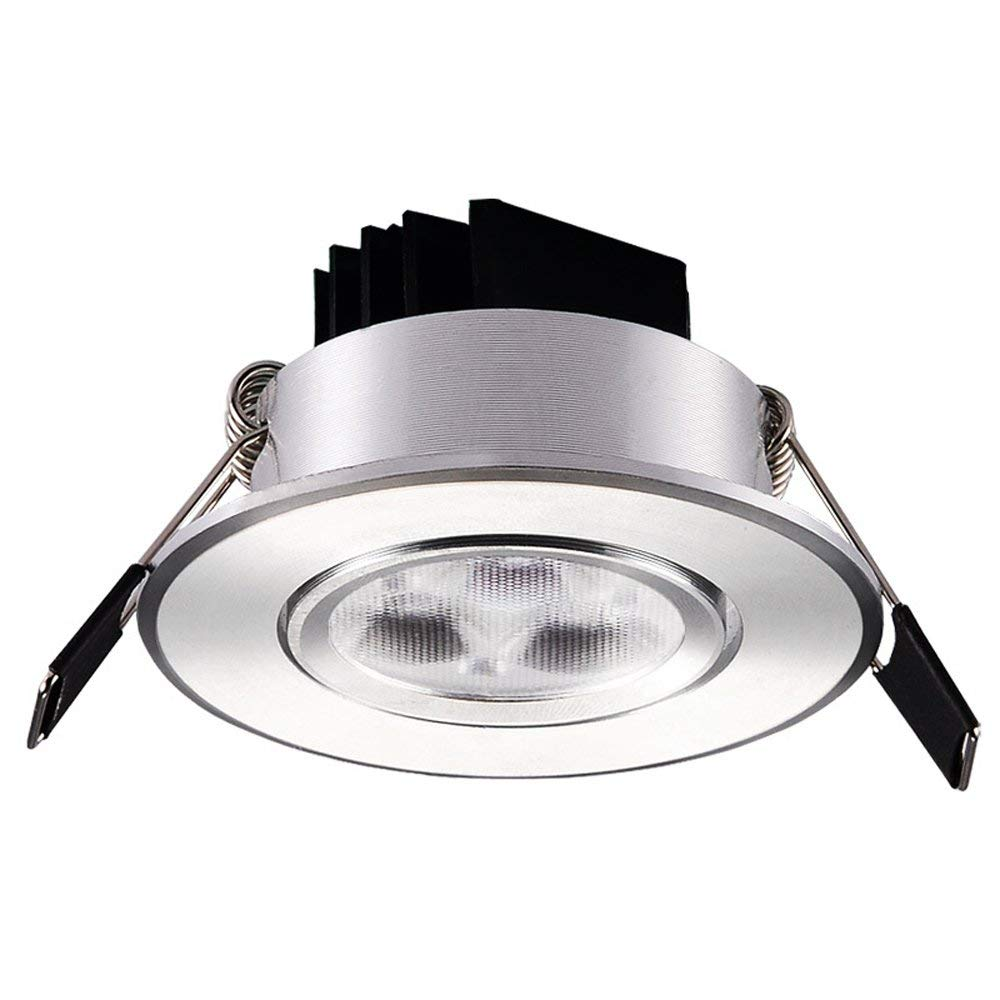 Get quotations · splindg super bright adjustable angle recessed led downlight light cob ceiling spot light 3w 5w 3inch