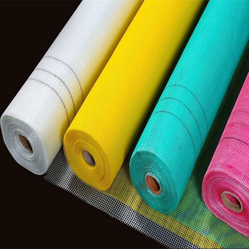 High Precision fire retardant reinforcing 160g vinyl coated fiberglass mesh