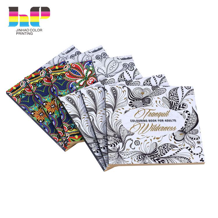Bulk Therapeutic Perfect Binding Adult Coloring Book Printing Service - Buy  Coloring Book Printing Service,Adult Coloring Book Printing ...