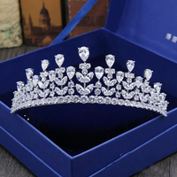 Gorgeous Tiara Crown Bridal Prom Wedding