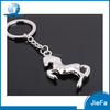 Promotional zinc alloy horse metal animal keychain