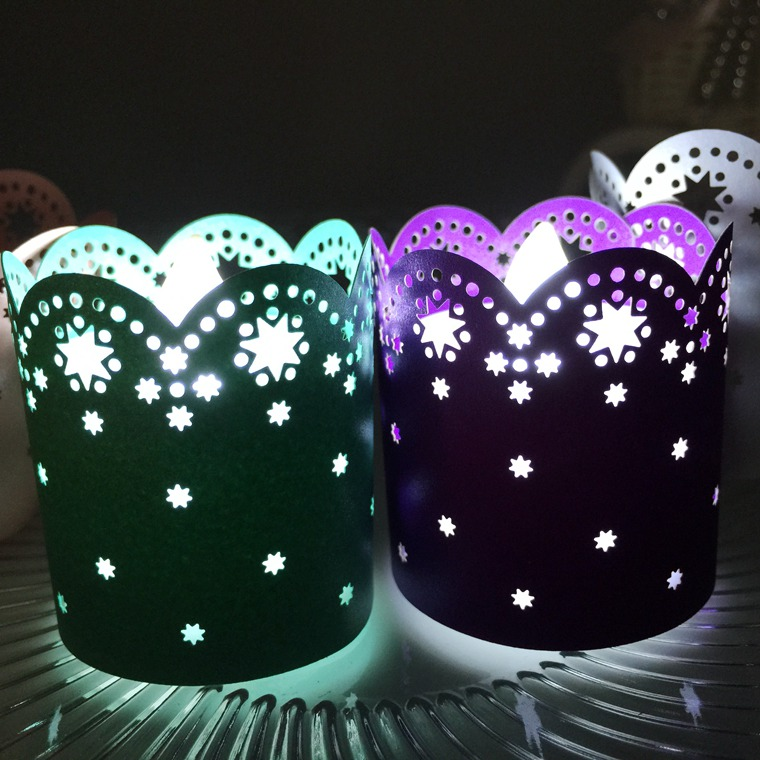 Eco Friendly Cheap Indian Paper Star Lanterns Candle Light Cover Christmas Paper Lanterns