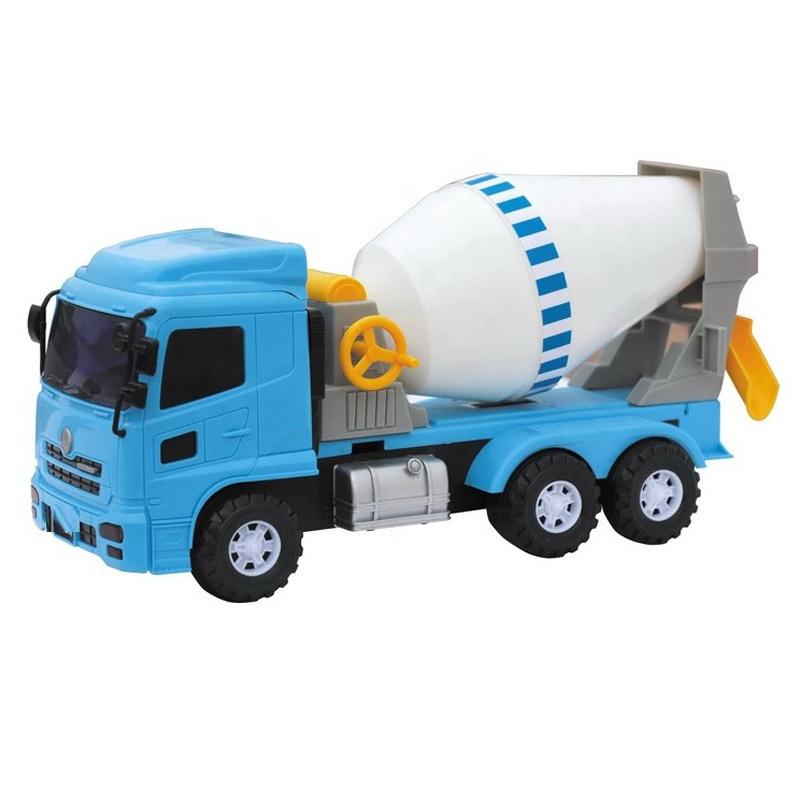 트럭 시멘트 혼합 핫 세일 프로모션 제조 생성자 저렴한 키즈 보이 모델 다이 캐스트 장난감 자동차 로고 큰