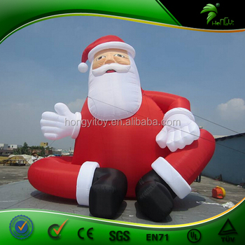 giant inflatable santa christmas inflatables santa claus christmas outdoor decoration items - Christmas Outdoor Inflatables