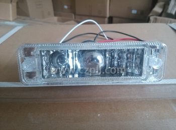 FRONT BUMPER LAMP for GOLF 1 LED 1974 - 1983 WHITE COLOR LED 161 953 055 A