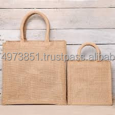 Eco-friendly & best quality of jute shopping bags