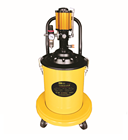 Pneumatic High Pressure Oil Injector grease bucket pump