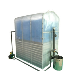 Hot Sale Home Use Portable Assembled Membrane Biogas Plant for Waste Treatment