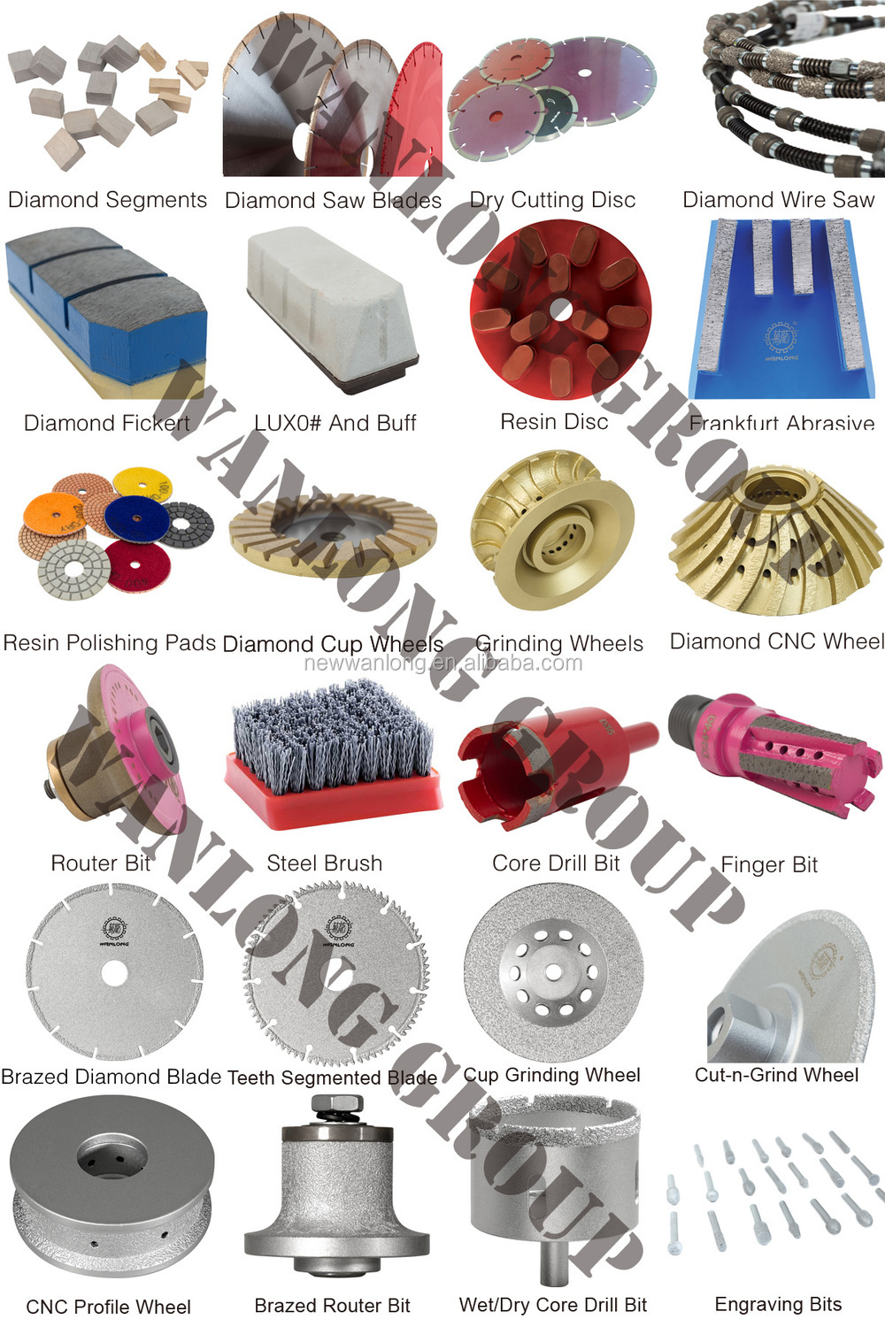 T140 fickert abrasives tools and abrasive tools resin fickert&stone tool metal fickert abrasive for stone
