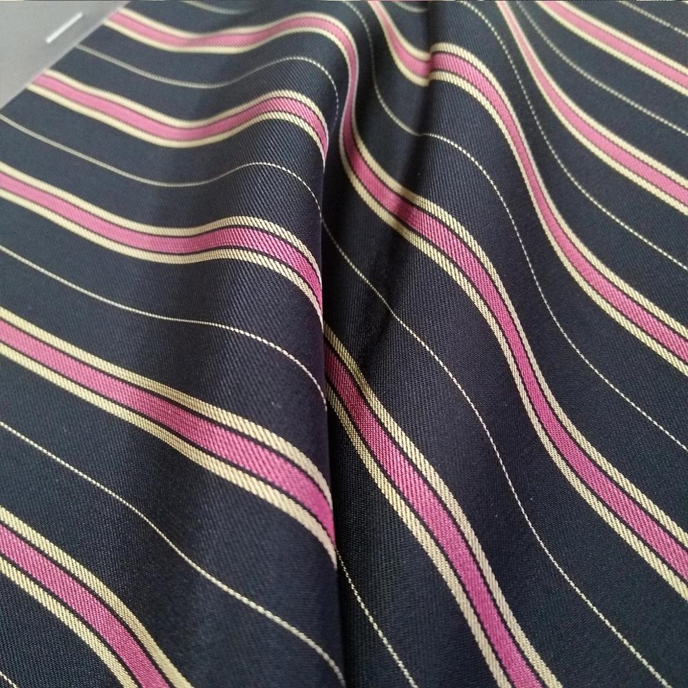 100%viscose stripe dress fabric