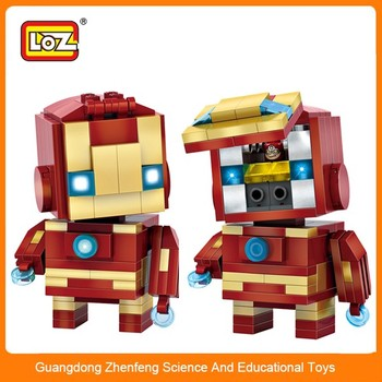 kids bricks intellect blocks toys super hero toys creative LOZ MINI brick for sale