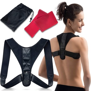 FDA approved for Women and Men Neck Pain Relief adjustable back posture corrector and loop band