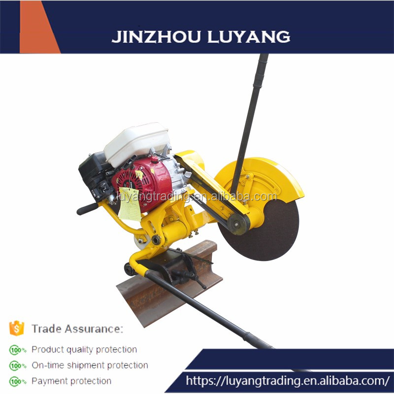 Used railroad track Hand Saw Metal Abrasive Wheel Cutting Machine