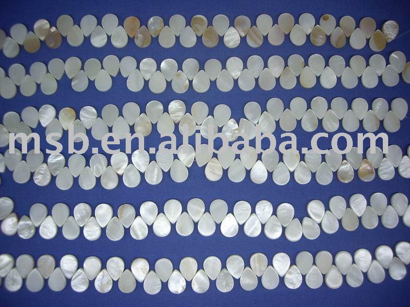 Chinese fiume shell forma di goccia pendente collana di conchiglie Produzione produttori, fornitori, esportatori, grossisti