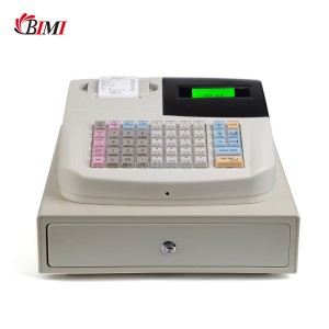 Supermarket electronic cash register machine