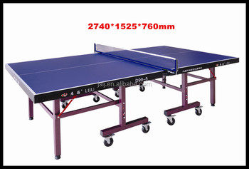 International standard size table tennis table dimensions - Table tennis table size and specifications ...