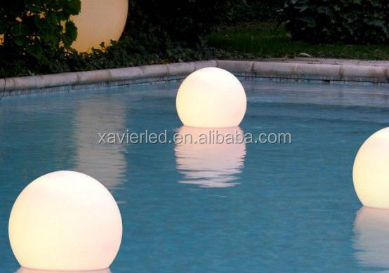outdoor light up led glow swimming pool ball mood light ball
