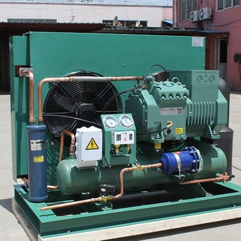 semi-hermetic bitzer cold room condensing unit