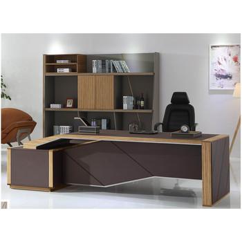 Escritorio Oficina Madera.De Madera De Lujo Escritorio Ejecutivo De W05 Mesa De Oficina